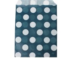20 Candy bags wedding, popcorn bags, blue and white polka dot favor bags, gift bags, cookie bags, goodie bags, party supplies, wedding bags by vickysjewelrysupply. Explore more products on http://vickysjewelrysupply.etsy.com