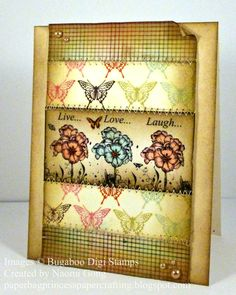 another distressed card