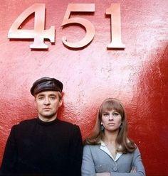 Fahrenheit 451 by François Truffaut - 1966 - Oskar Werner, Cyril Cusack and Julie Christie