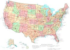map of the us states | Printable United States Map