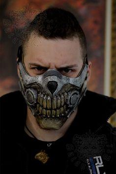 Mad Max Fury Road, Immortan Joe Mask, Mad Max Mask, Handmade Paint, Skull Mask, Leather Mask, Masks Art, Fashion Mask, Diy Mask