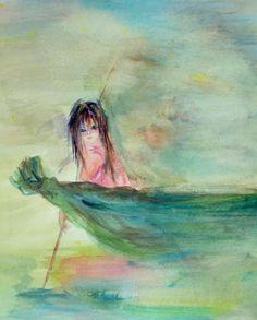 Watercolor Cold-Press Rag Paper Artist: Sarah McTeer Ogburn