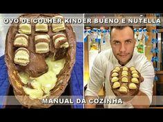 Como Fazer Ovo de Colher Kinder Bueno e Nutella - Receitas de Páscoa -  ...