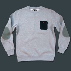 'Pocket Crewneck' Sweatshirt $64