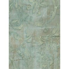 Wallpaper French Aqua Blue Gold Acanthus Damask Scroll by The Wallpaper and Border Store, http://www.amazon.com/dp/B004SVHH2G/ref=cm_sw_r_pi_dp_umCbqb1XY8AG3