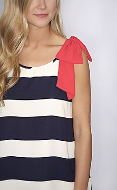 old glory ribbon top