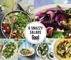Think salads are boring? These 'lekker' recipes will make you change your mind! Latest Recipe, Good Housekeeping, Summer Salads, Lunch Ideas, Cobb Salad, Dressings, Menu, Change, Make It Yourself