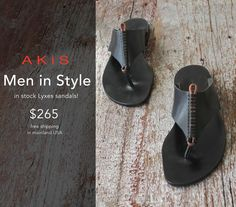 Men in Style — AKiS Sandals