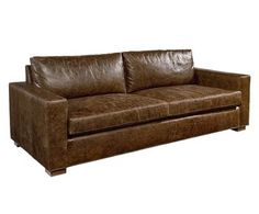 Magnolia Home by Joanna Gaines Southern Sown Leather Sofa - * WE SHIP *