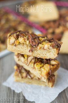 Maple Nut Bars | Kitchen PLAY