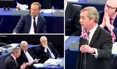 NIGEL Farage left sullen Eurocrats squirming in their seats today as he nailed the undemocratic European Union over its disgraceful reaction to the Dutch referendum result.Great video