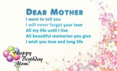 Birthday wishes and quotes for mom : Birthday images and pictures for mommy