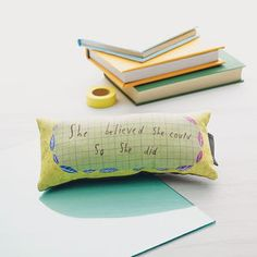 'She Believed She Could So She Did' Mini Cushion - gifts under £25 for her