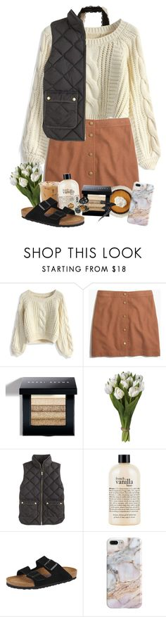 """Isaiah 41:10"" by pinkrasberry ❤ liked on Polyvore featuring Hollister Co., Chicwish, Madewell, Bobbi Brown Cosmetics, J.Crew, philosophy, Birkenstock, Recover and Manic Panic NYC"