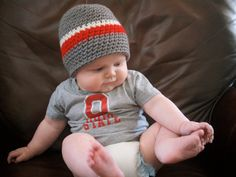 our baby will be sporting this this buckeye outfit for sure! boy or girl!