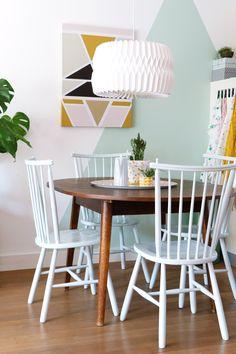 MY ATTIC SHOP / vintage / retro / dining chairs / dining room / kitchen / chair Photography: Marij Hessel www.entermyattic.com