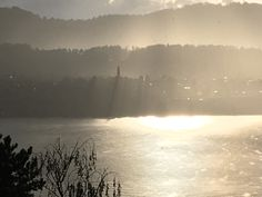 View from my balcony, Lake Zurich. It changes constantly. This particular afternoon the view was stunning.