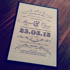 14 Best Wedding Invitations Images Ireland Irish Retro Wedding