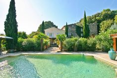 Secondhome | A beatutiful 18th century bastide in Le Thoronet. 4 bedrooms in the main house and a smaller self contained house with 2 bedroom.  And this incredible pool | Le Thoronet, South of France | Secondhome.global