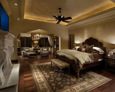love the lighting! Master Bedroom Design, Pictures, Remodel, Decor and Ideas - page 7