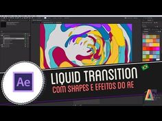 Tutorial Adobe After Effects: Liquid Motion Transition - YouTube