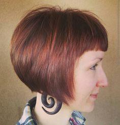 #bangs #redhead