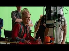"""Just Like Fire (From """"Alice Through The Looking Glass"""")(Behind the Scenes) - YouTube"""