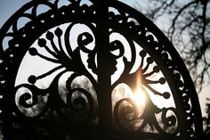 The gates at   Ashton Court by archidave, via Flickr
