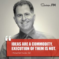 The man behind Dell has our startup quote today! #quotes