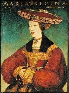1520 Hans Maier (1490-1530) Mary of Austria in 1520 à innssbruck, Queen of Hungary 1522–6, Regent of the Netherlands 1531–56