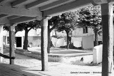Plaza del Arrantzale desde los soportales de Etxetxu (Colección Daniel Zubimendi) (ref. DZN00052)