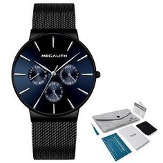 Quartz Ultra Thin Men's Quartz Simple Cheap Watches Outfit Accessories From Touchy Style. Cheap Watches, Watches For Men, Quartz, Clock, Luxury, Outfit, Simple, Casual