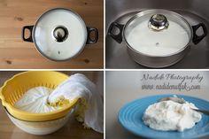 Quark yapimi Muesli, Yogurt, Cheesecake, Health Fitness, Food And Drink, Kitchen, Milk Products, Bakken, Recipies