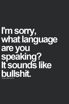 Some people speak it fluently.