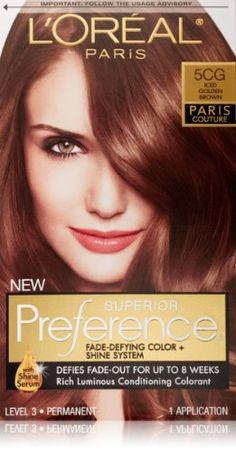L'Oreal Superior Preference Hair Color Paris Lumiere # 6AB ...