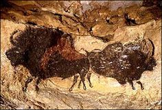 Lascaux cave painting....it is speculated that many of the early man painting were done in the dark.