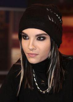 Different Hair Styles by Bill Kaulitz from Tokio Hotel