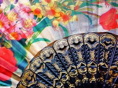 Floral Fan by Parveen©