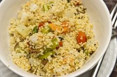 not about ALL the veggies in it (no carrots) but the cous cous plain would be great!