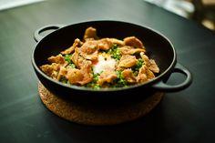 Chicken & rice stir fry.  Excellent recipe!!