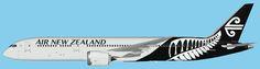 Air New Zealand Boeing 787-9 UTT Model