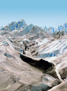 Perito Moreno Glacier #Argentina #travel I need to figure out a way to see this...