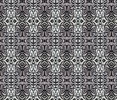 black_n_silver fabric by jimprucey_ on Spoonflower - custom fabric