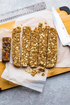 Homemade Granola Bars - 12 Ways - perfect easy, healthy on-the go gluten free snacks for school or work lunchboxes. Best of all, low carb keto options. Soft And Chewy Granola Bars Recipe, Granola Bar Recipe Easy, Granola Bars Peanut Butter, Chocolate Chip Granola Bars, No Bake Granola Bars, Healthy Granola Bars, Homemade Granola Bars, Healthy Snacks, Vegan Snacks