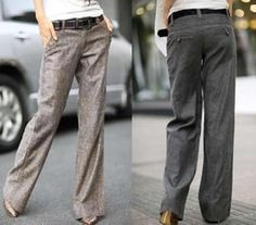 2013 new fashion high quality white-collar formal wide leg pants for women $22.50