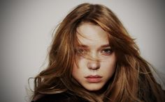 Hot actresses to watch out for in 2014 - Lea Seydoux Uniqlo, Lea Seydoux Adele, Beautiful Person, Beautiful Women, Jeaniene Frost, Blue Is The Warmest Colour, Prada Candy, Hair Up Or Down, La Rive