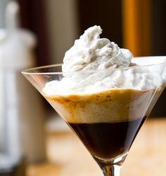 Coconut Whippuccino Recipe with coffee