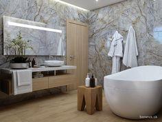NÁVRH KÚPEĽNE - Fotogaléria, šikovné riešenia kúpeľní / BENEVA Bathtub, Bathroom, Standing Bath, Washroom, Bathtubs, Bath Tube, Full Bath, Bath, Bathrooms
