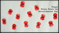 Looking for a craft to mark Remembrance Day? How about these Poppy Prints made with poppy seeds. To make our poppies we sliced . Memorial Day Activities, Remembrance Day Activities, Remembrance Day Poppy, Crafts For Seniors, Crafts For Kids, Daycare Crafts, Paper Plate Poppy Craft, Poppy Craft For Kids, Poppy Images
