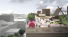 Equipamiento urbano: Son los espacios o edificios destinados para cubrir ciertas actividades que la población debe realizar. Hospitales, parques públicos, estaciones de policia, bomberos etc.